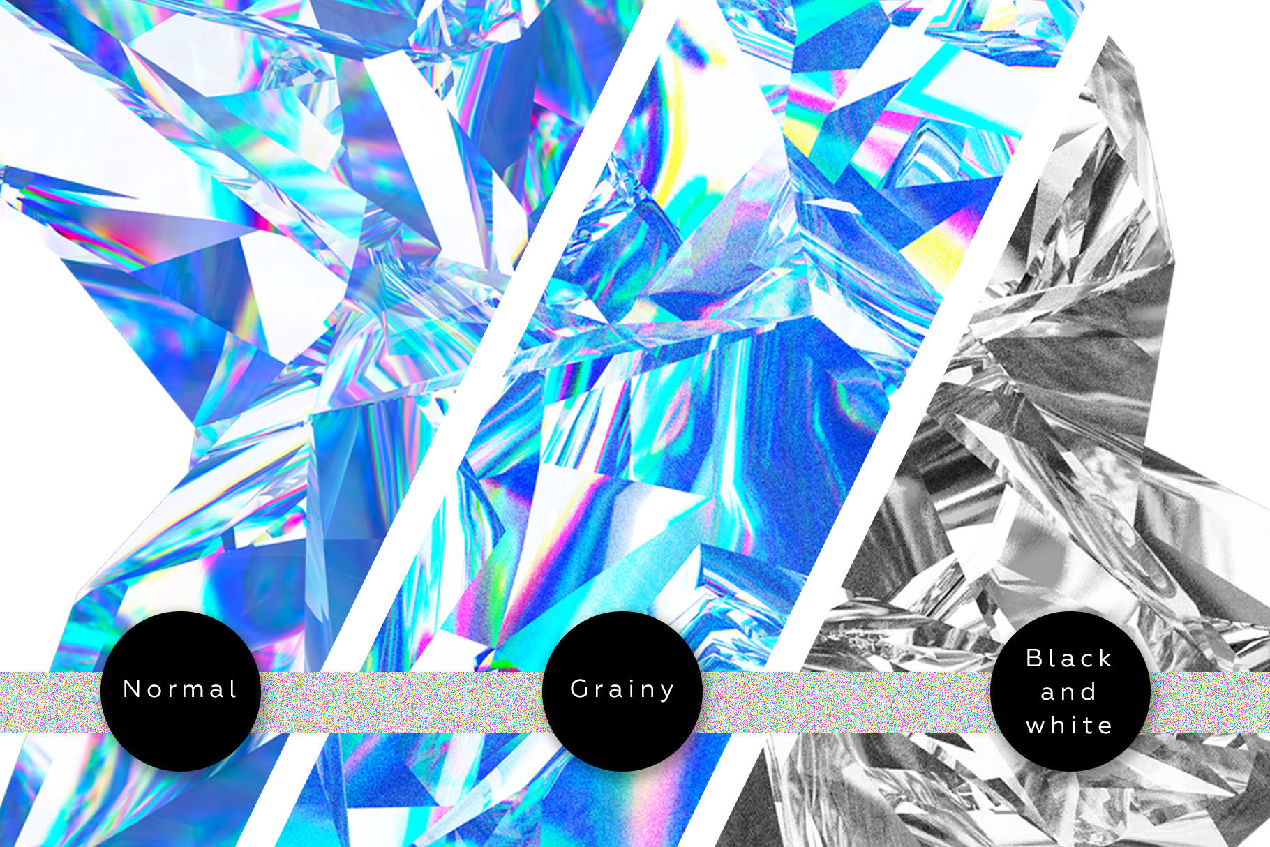 Crystalic - abstract shapes example image 4