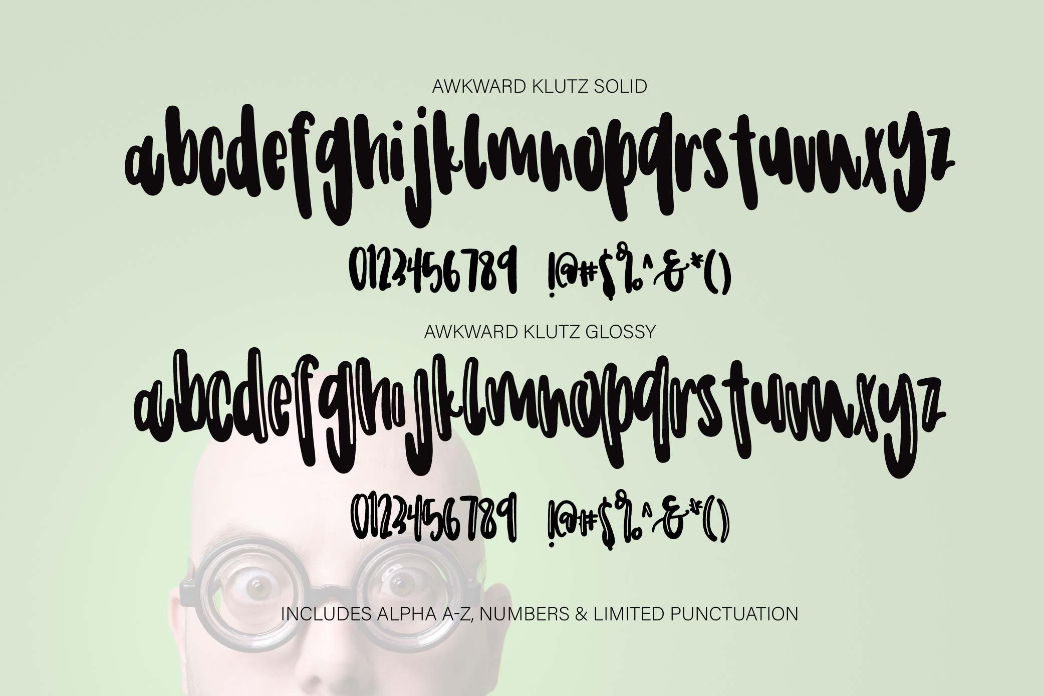 Awkward Klutz example image 3