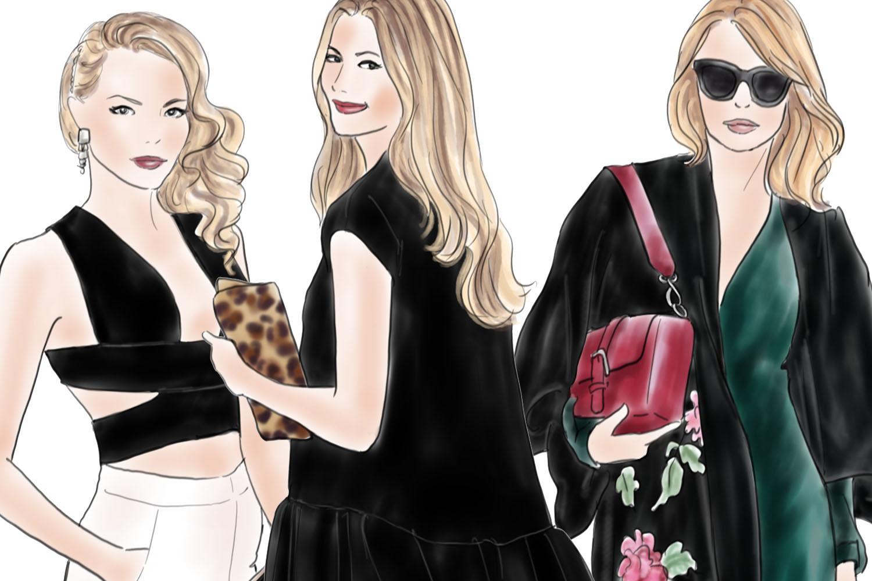 Fashion illustration clipart - Fashion Girls - Volume 11 - Light Skin example image 4