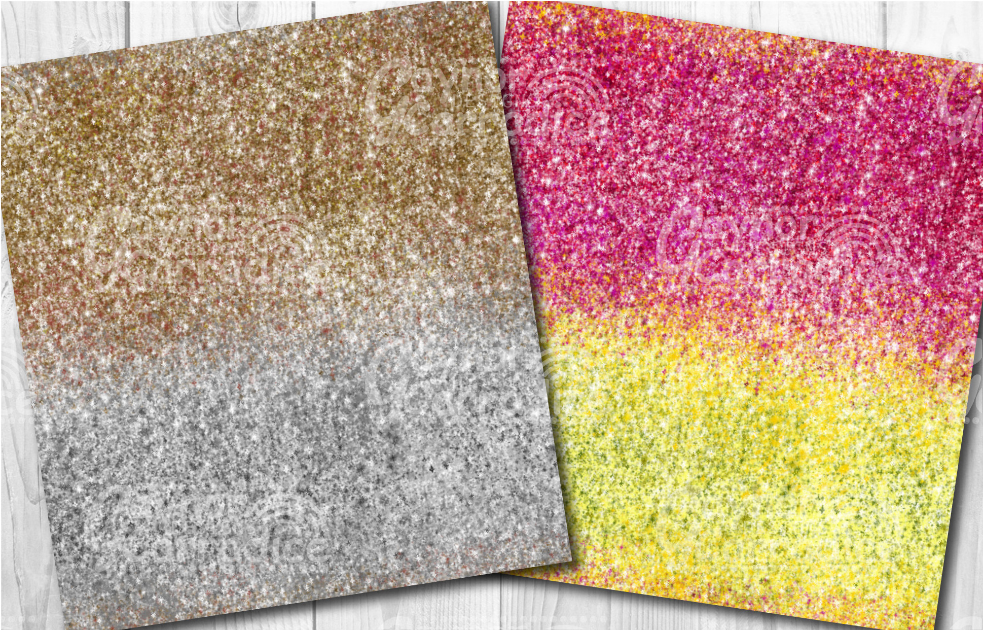 Ombre glitter collection example image 4