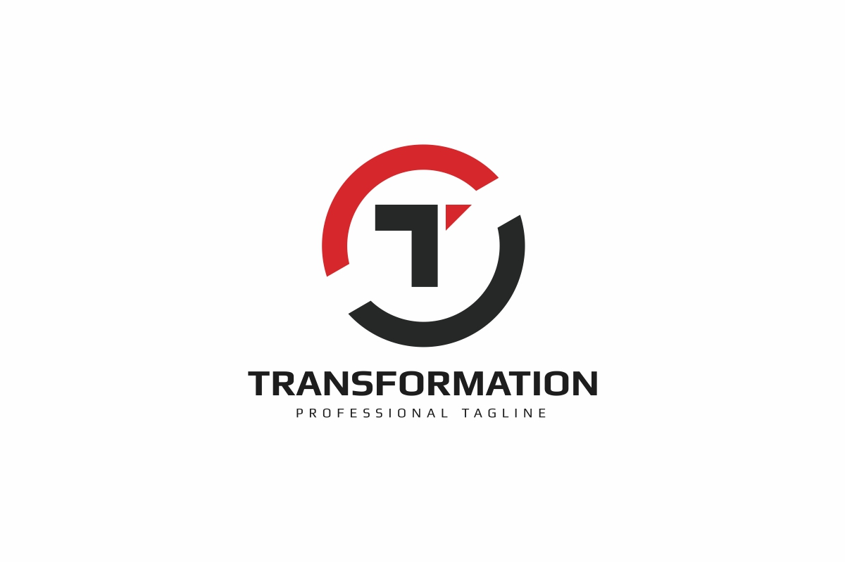 Letter T - Transform Logo example image 1