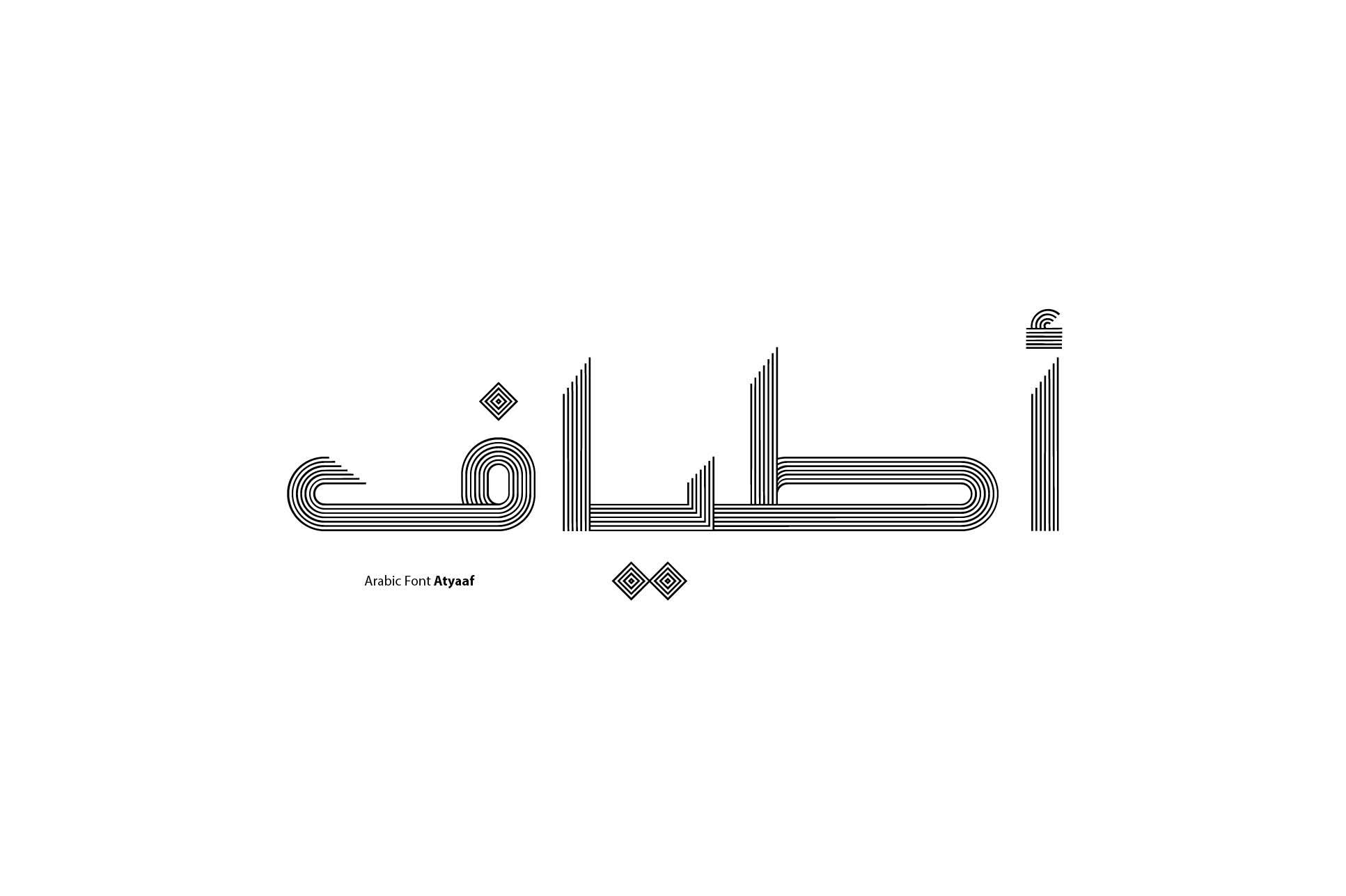 Atyaaf - Arabic Font example image 1