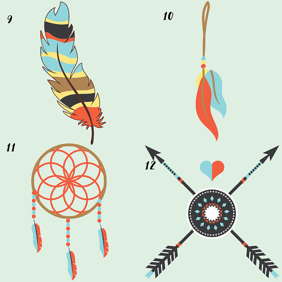 Tribal Clipart example image 6