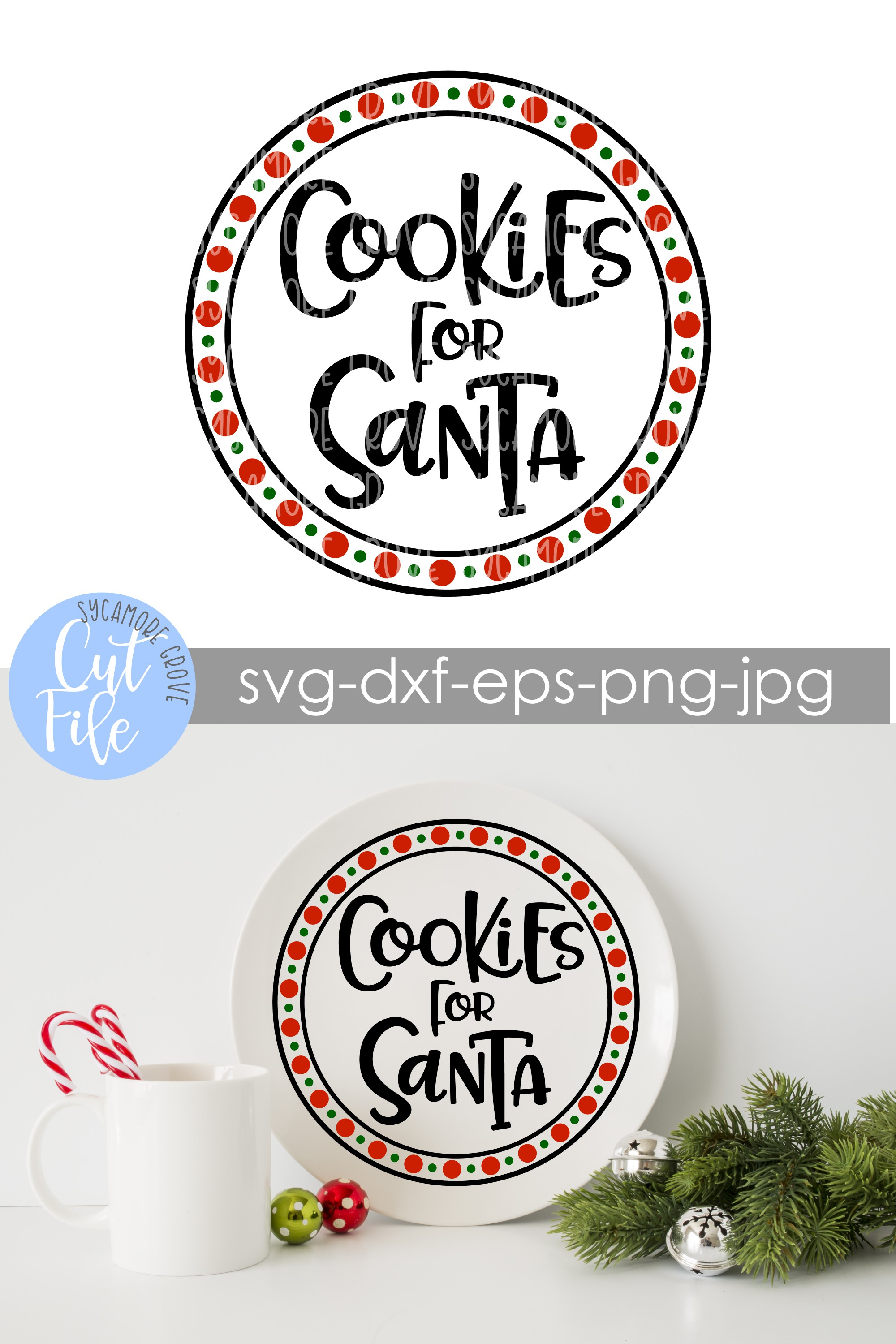 Cookies For Santa | Christmas SVG example image 4
