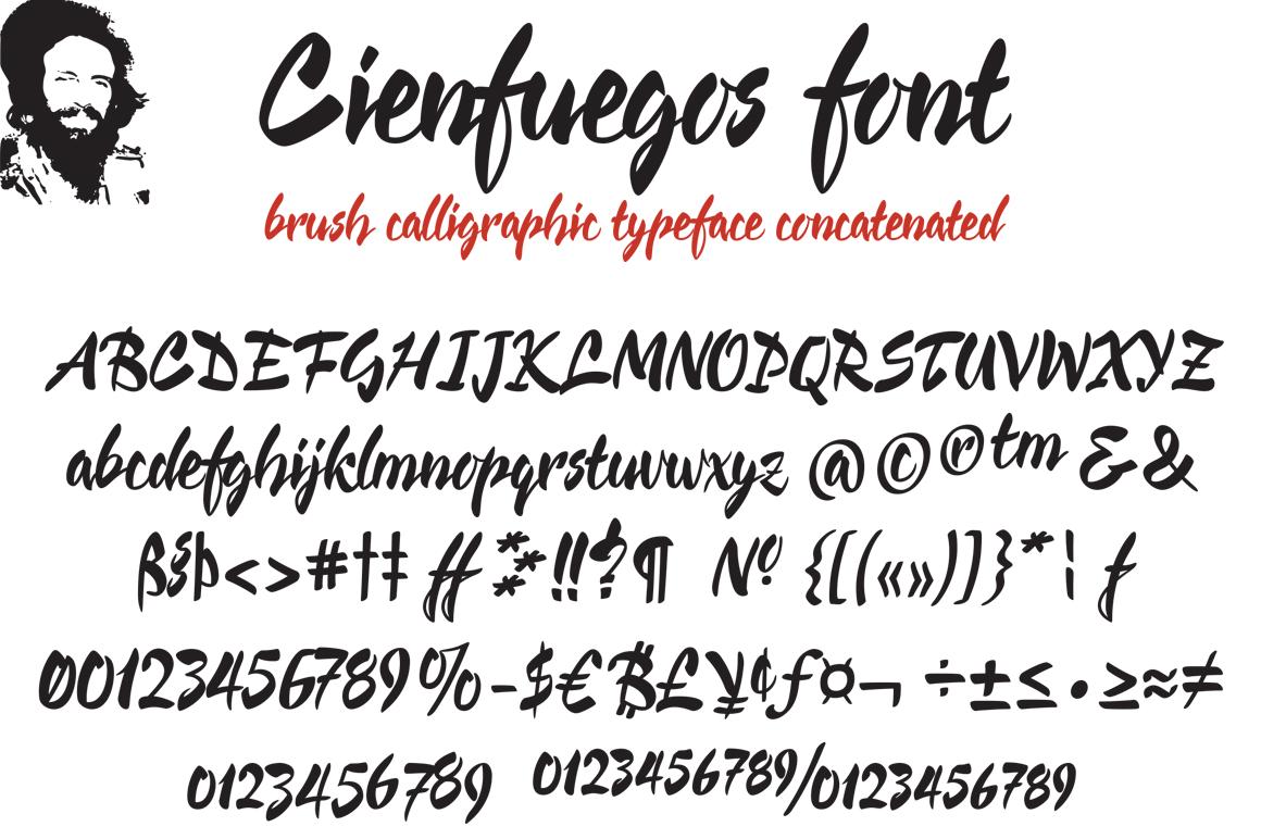Cienfuegos font example image 3
