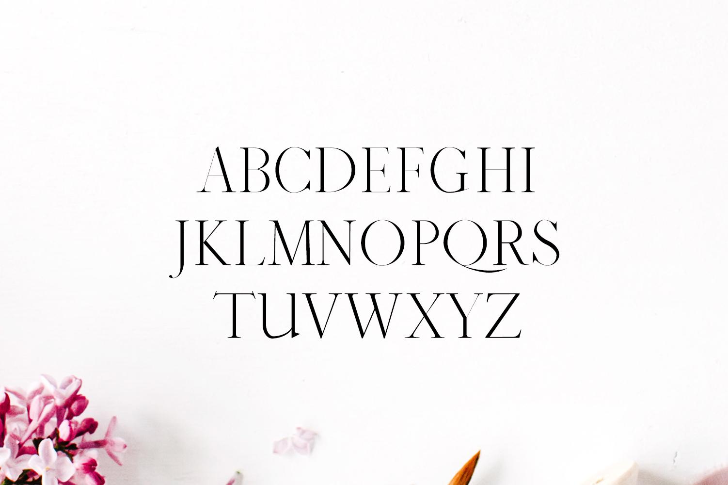 Jaavon Serif Font Family example image 2