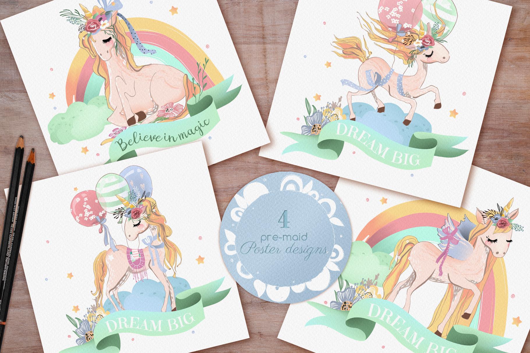 Romantic Unicorns example image 3