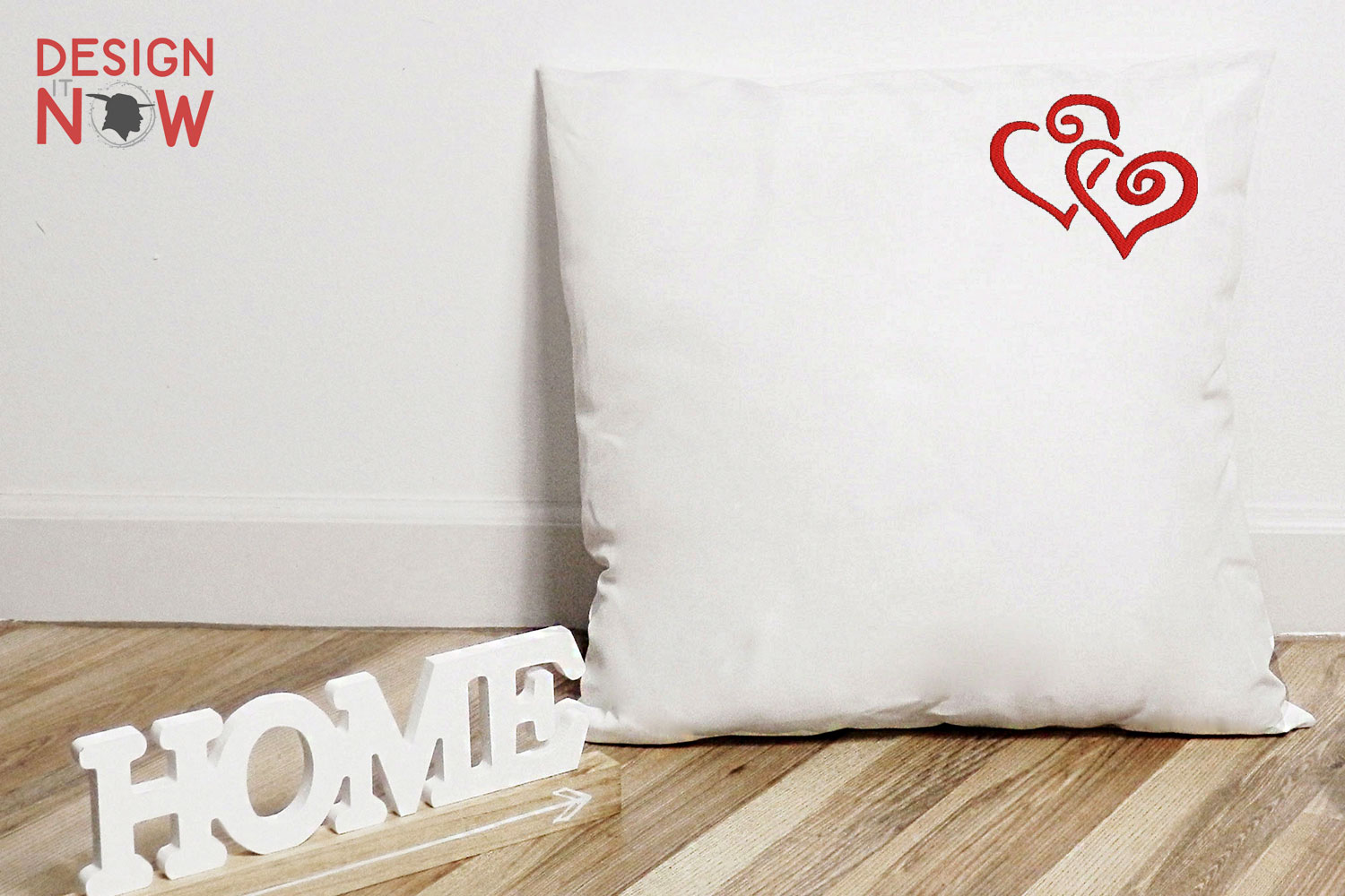 Heart Embroidery Design, Love Embroidery Pattern example image 2