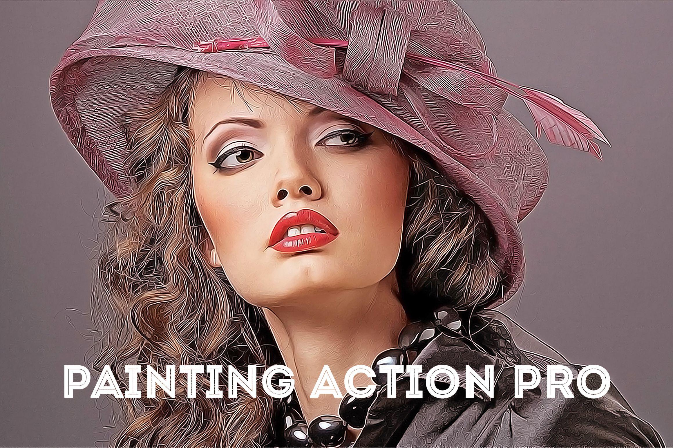 Painting Action Pro! (Photoshop) example image 1
