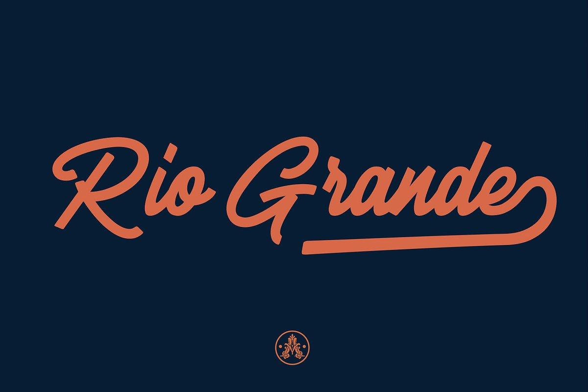 Riogrande Script example image 9