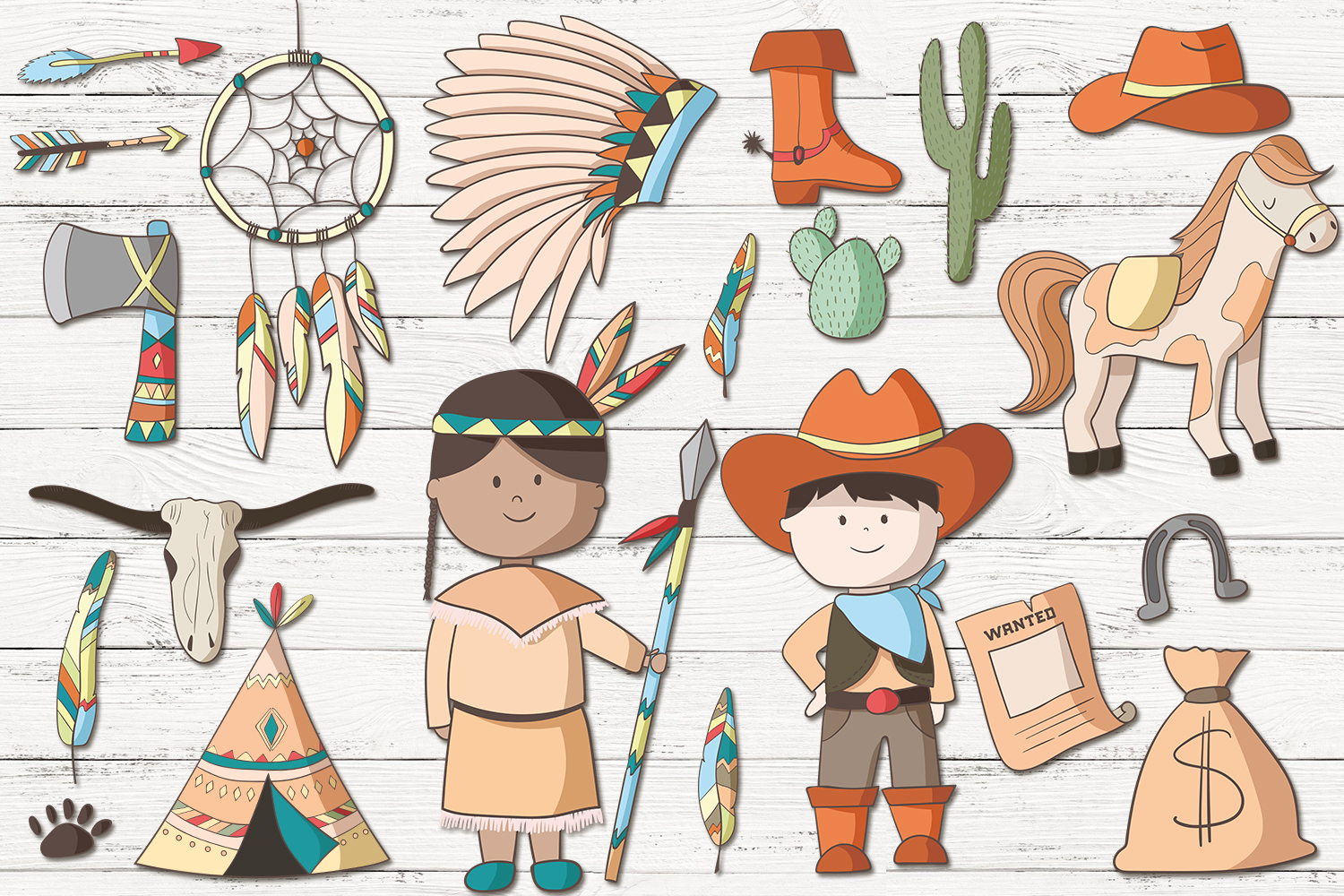 Cowboys and Indians example image 2