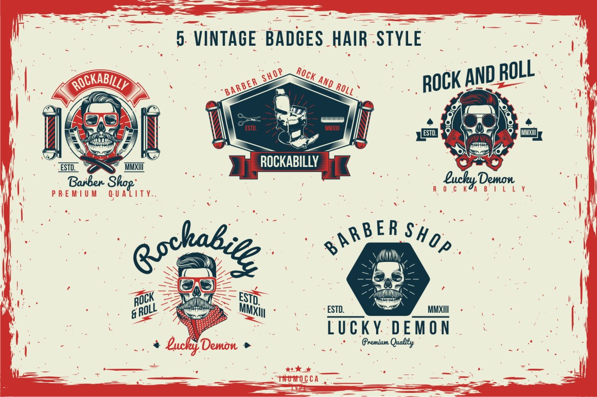 BIG BUNDLE Vintage Badges example image 21