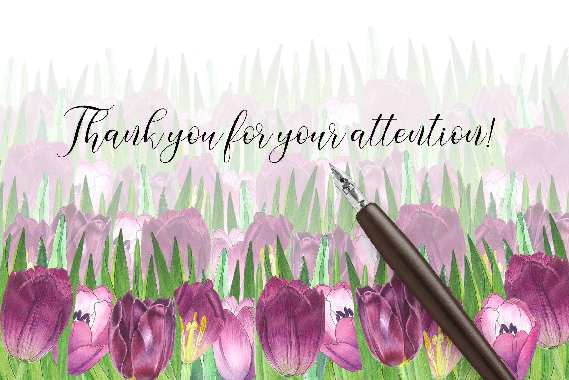 TULIPS. SPRING BOUQUET. Hand painteg watercolor clip art. example image 11
