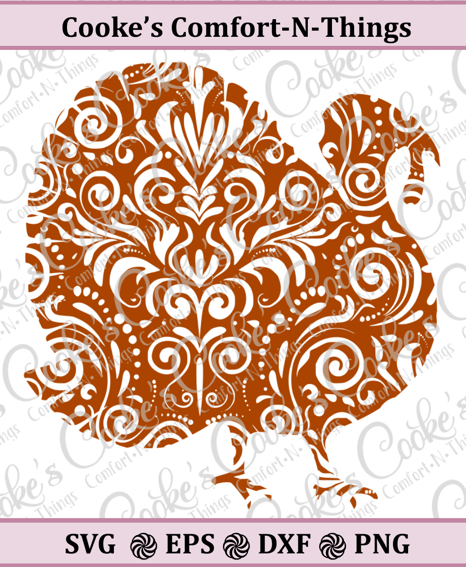 Swirly Turkey example image 1