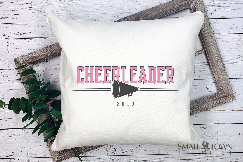 Cheerleading, Cheerleader, Team, Sports, PRINT, CUT & DESIGN example image 3