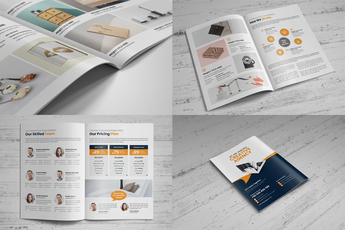 Portfolio Brochure Bundle example image 7