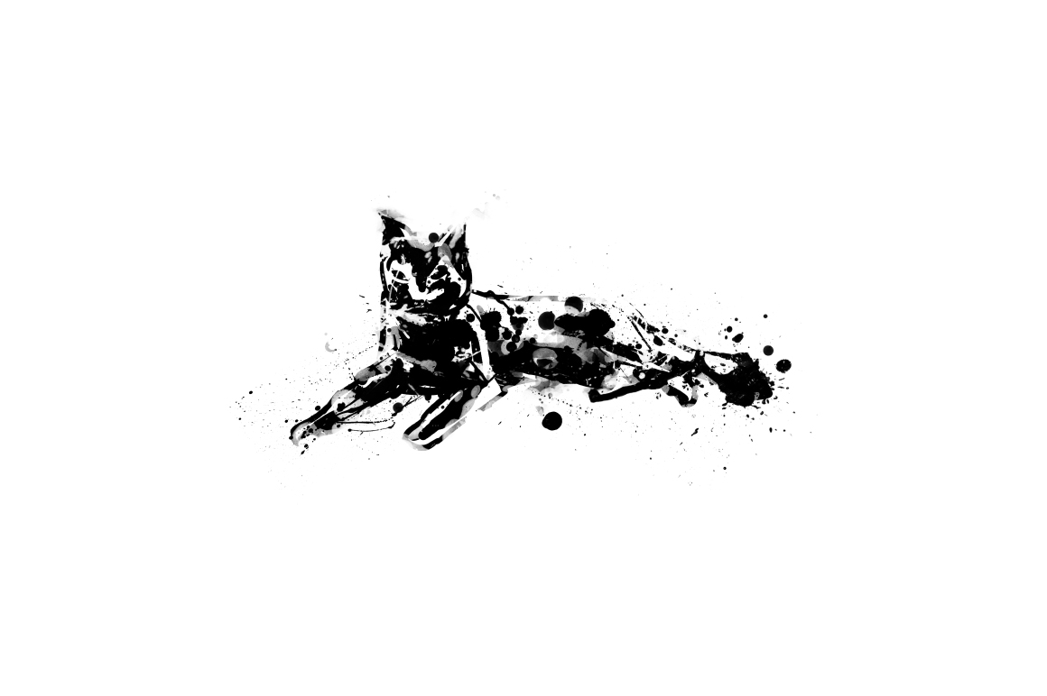 20 Illustration abstract Cats example image 5