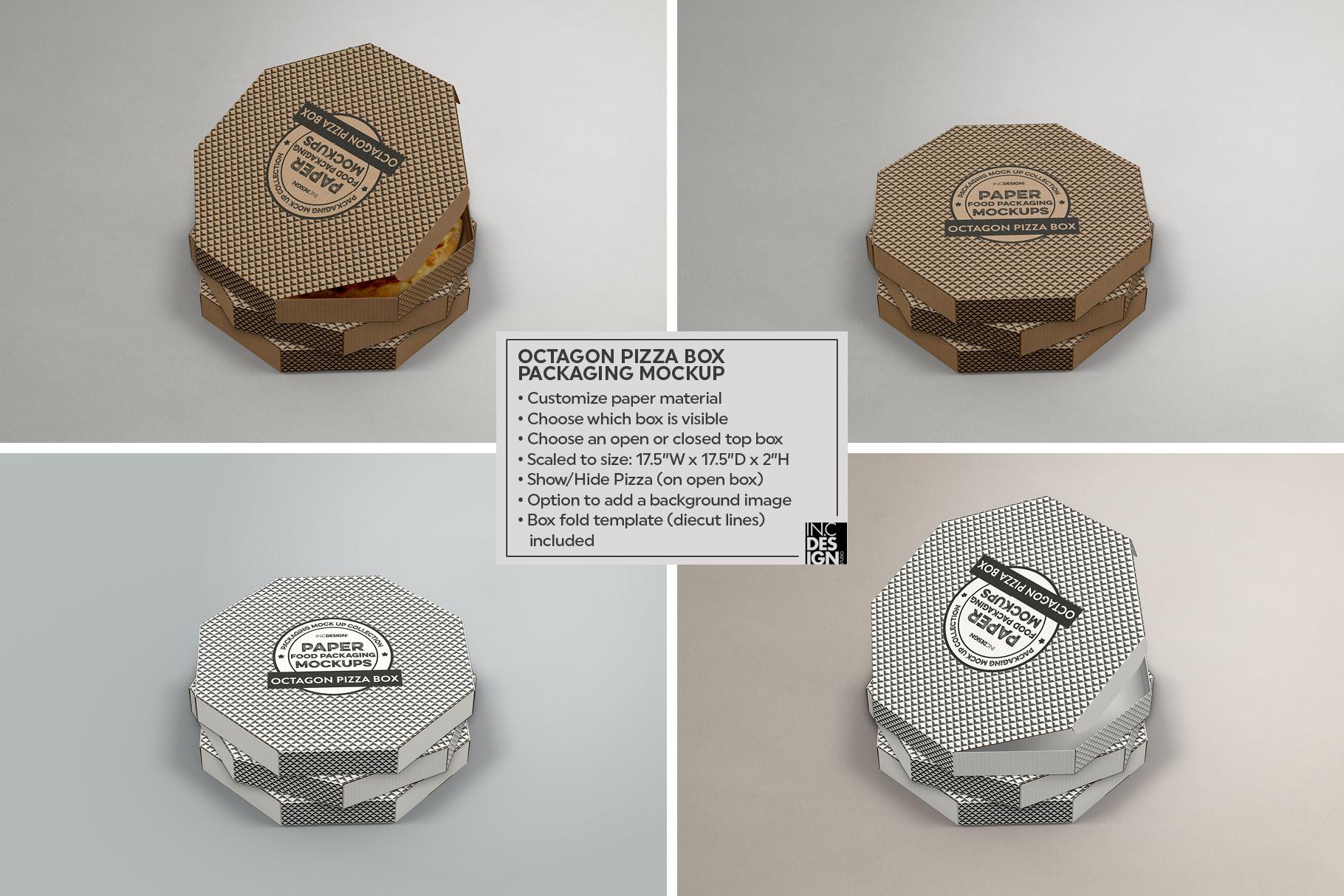 VOL.2 Food Box Packaging MockUps example image 13
