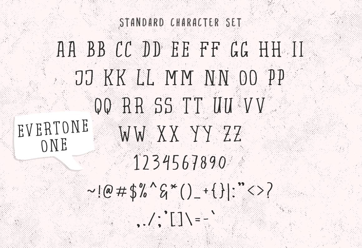 Evertone Font Trio example image 15