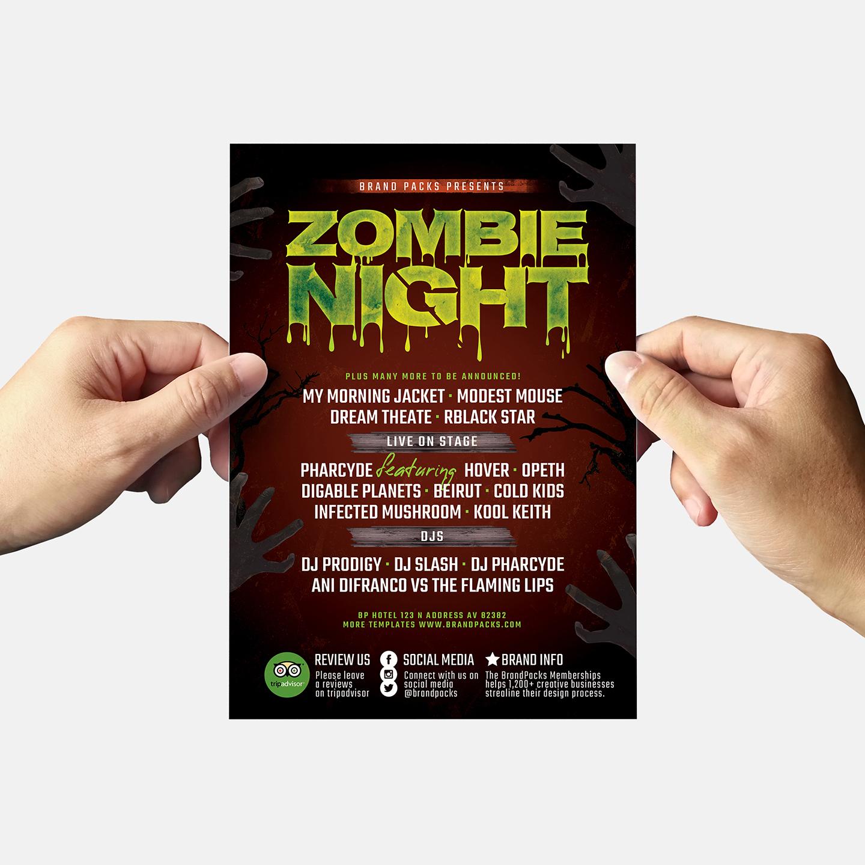 Halloween Flyer Template example image 6