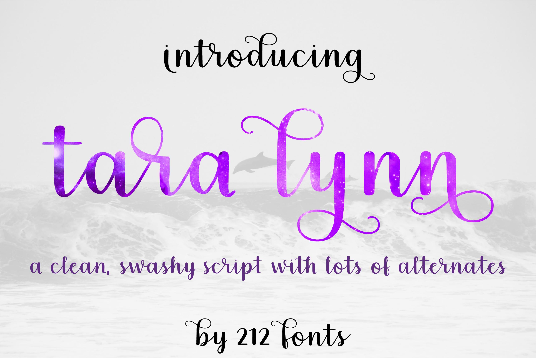 212 Tara Lynn Script Font example image 1