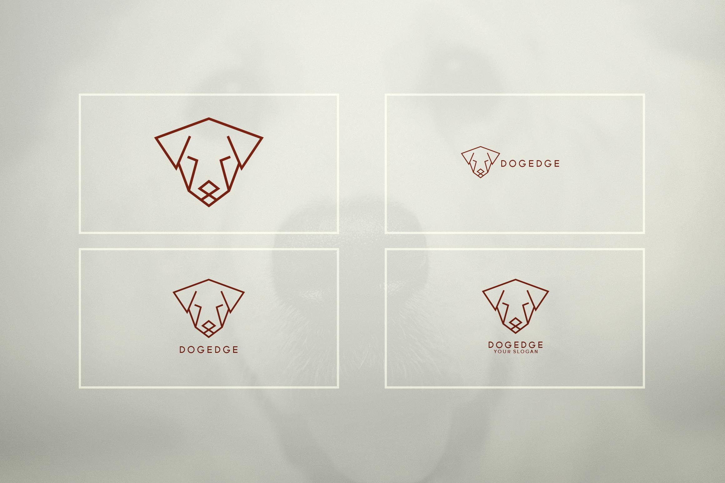17 Geometric Animal Icons and Logos example image 20