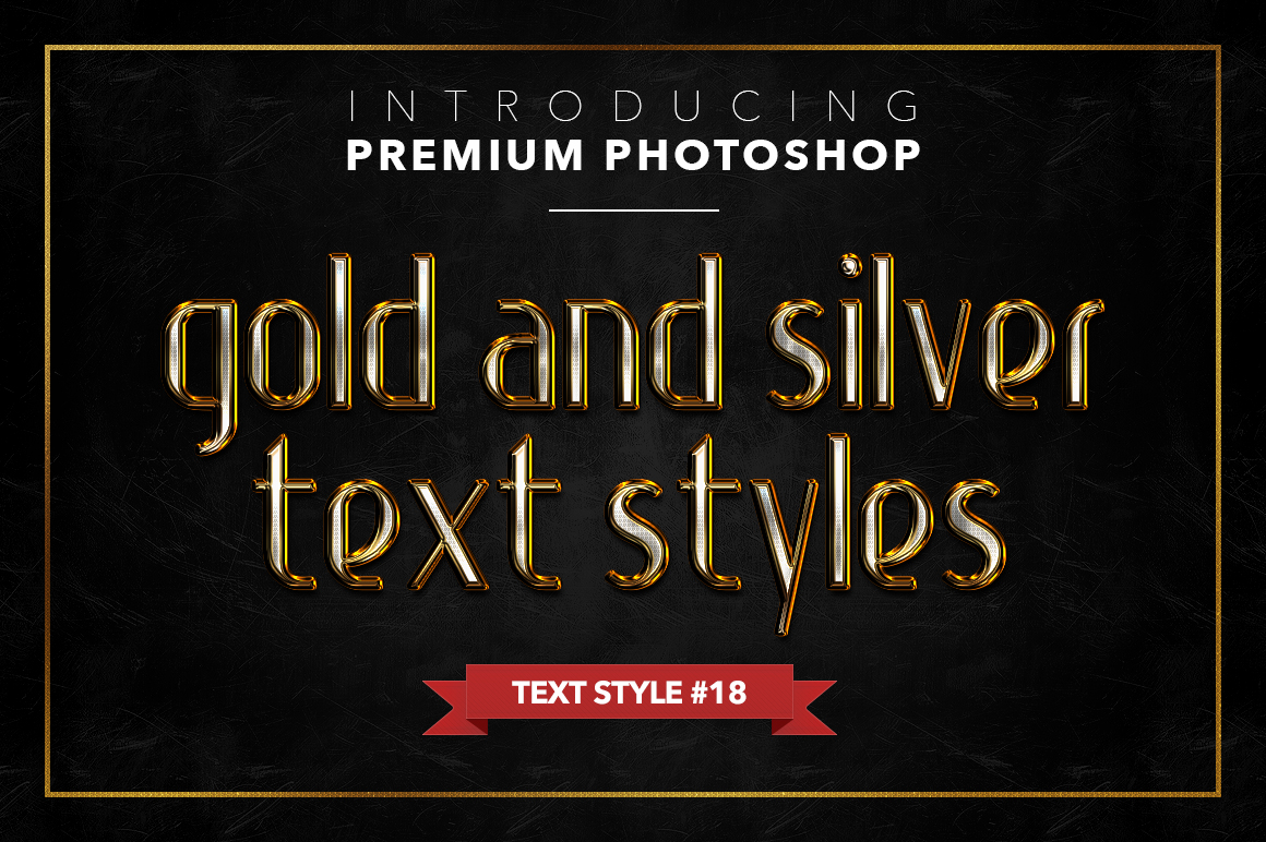 Gold & Silver #1 - 20 Text Styles example image 7