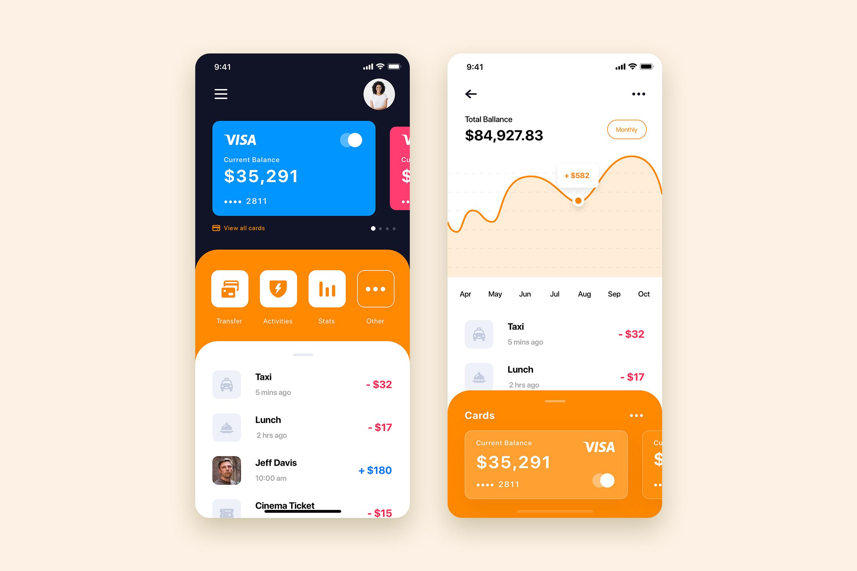 Curium - Financial UI Kit example image 4