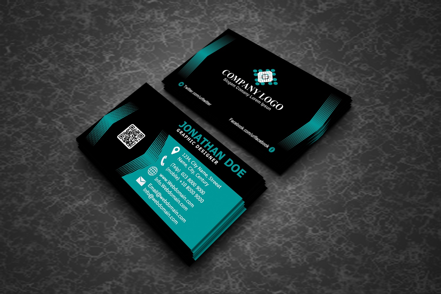 Modern Business Cards example image 6