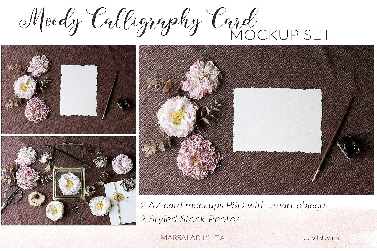 Wedding Mockup Bundle 400 Massive Wedding Mockups Bundle example image 10