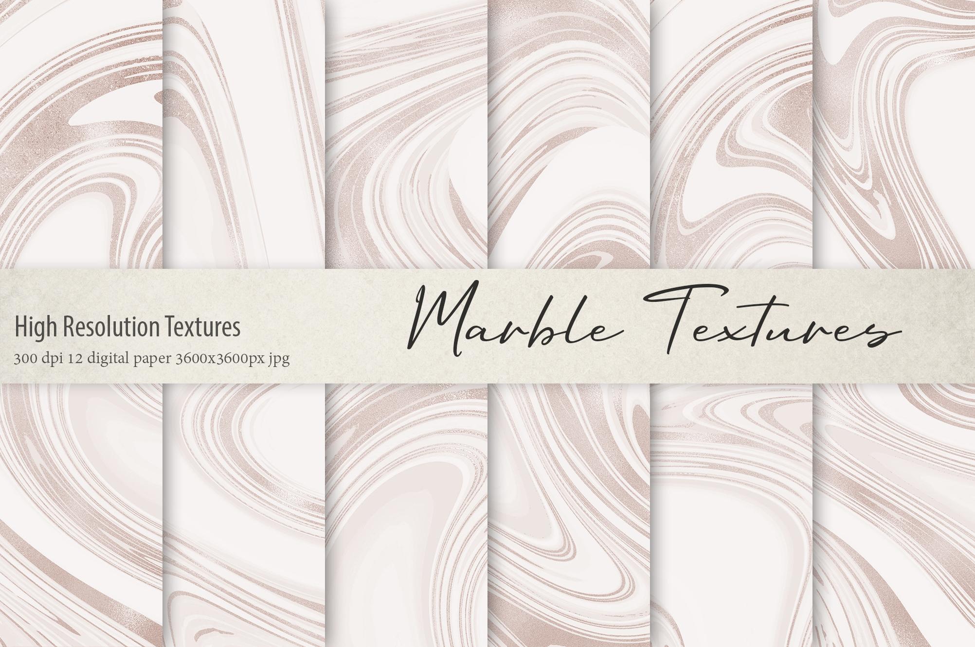 Marble Digital Paper BUNDLE example image 6