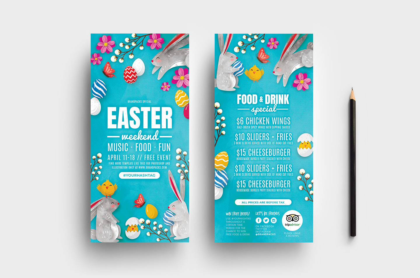 Easter Flyer Templates example image 6