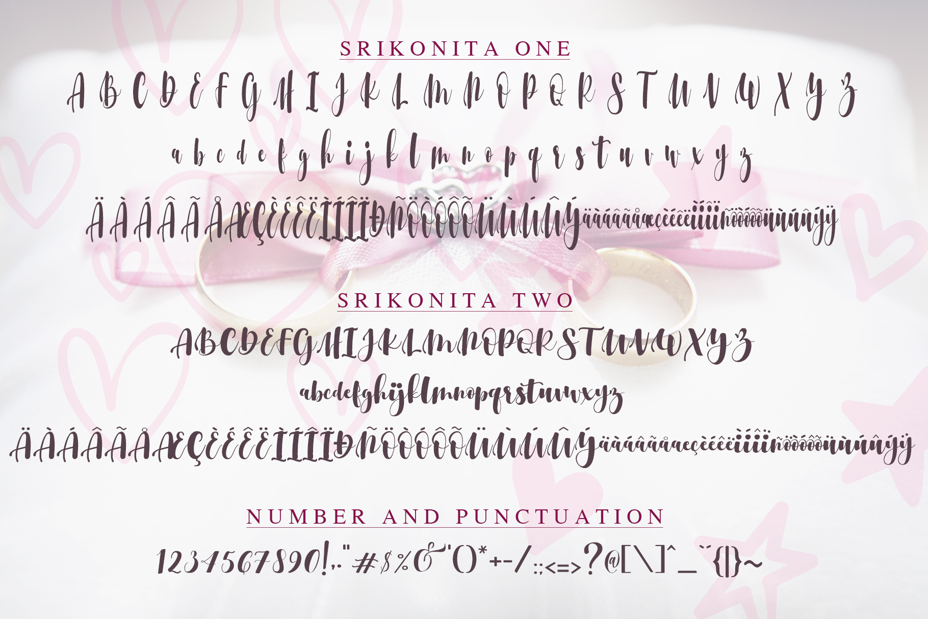 Srikonitta Script  FREE Vectors example image 10