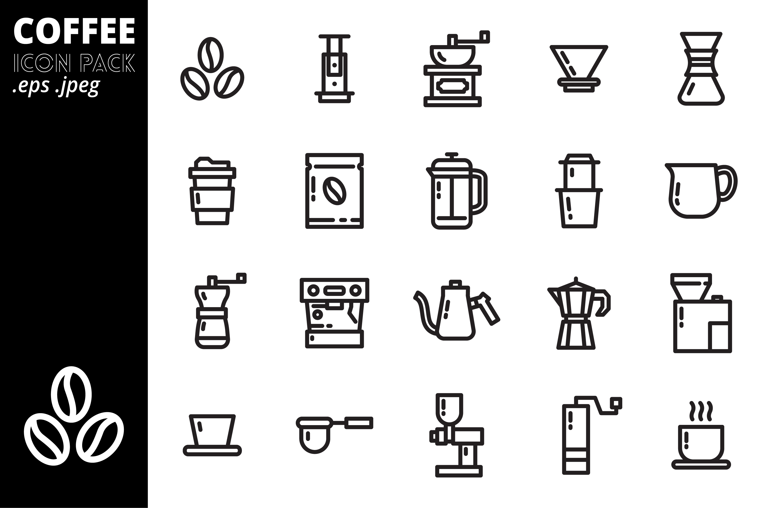Coffee Icon Pack example image 2