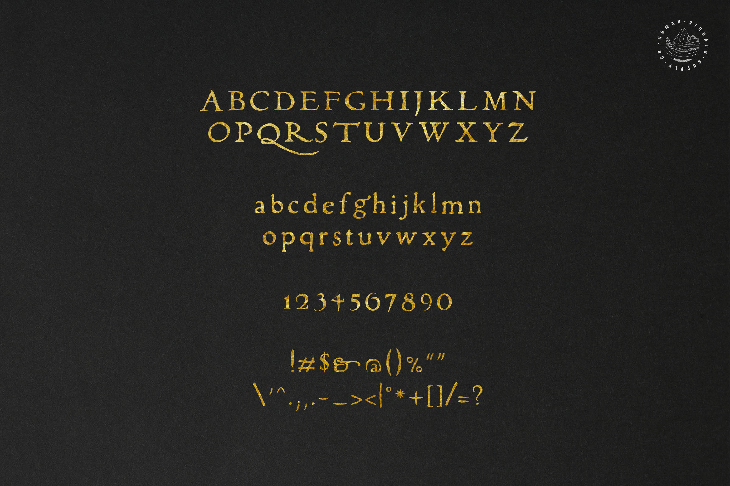 Alchemion Display Serif Font example image 3