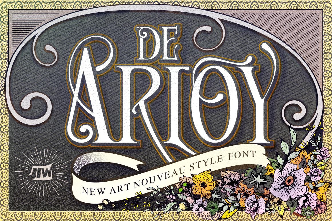 De Arloy Typeface example image 1