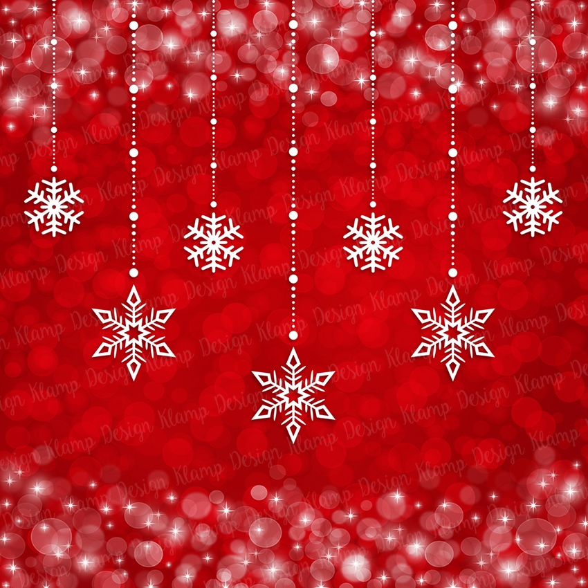 Red and Gold Christmas Digital Paper Pack / Backgrounds / Scrapbooking / Patterns / Printables / Card Making example image 7