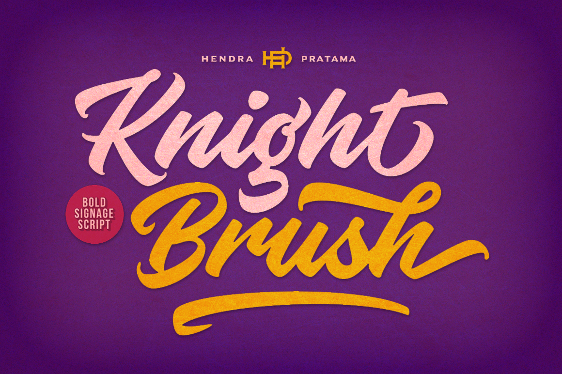Knight Brush example image 1
