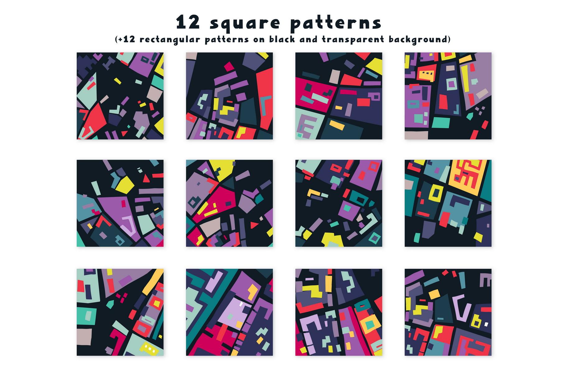Urban Puzzle - Patterns & Alphabet example image 2