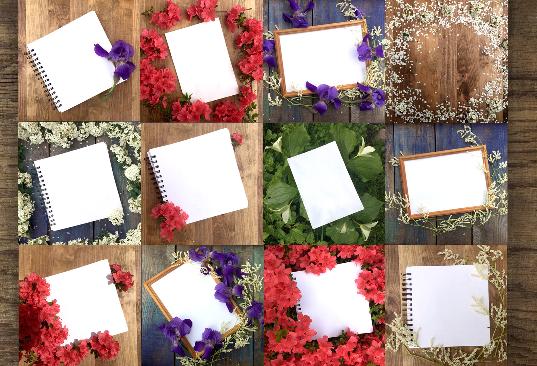 Flat lay photos of notebook for your example image 3