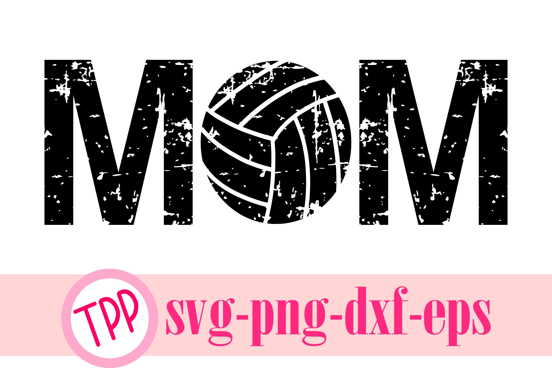 Volleyball Mom svg, Volleyball svg, volleyball design example image 1