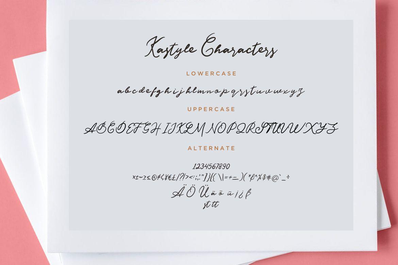 Kastyle Signature Brush example image 7