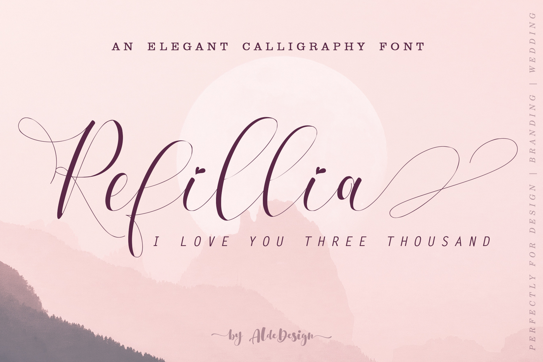 Refillia Calligraphy example image 1