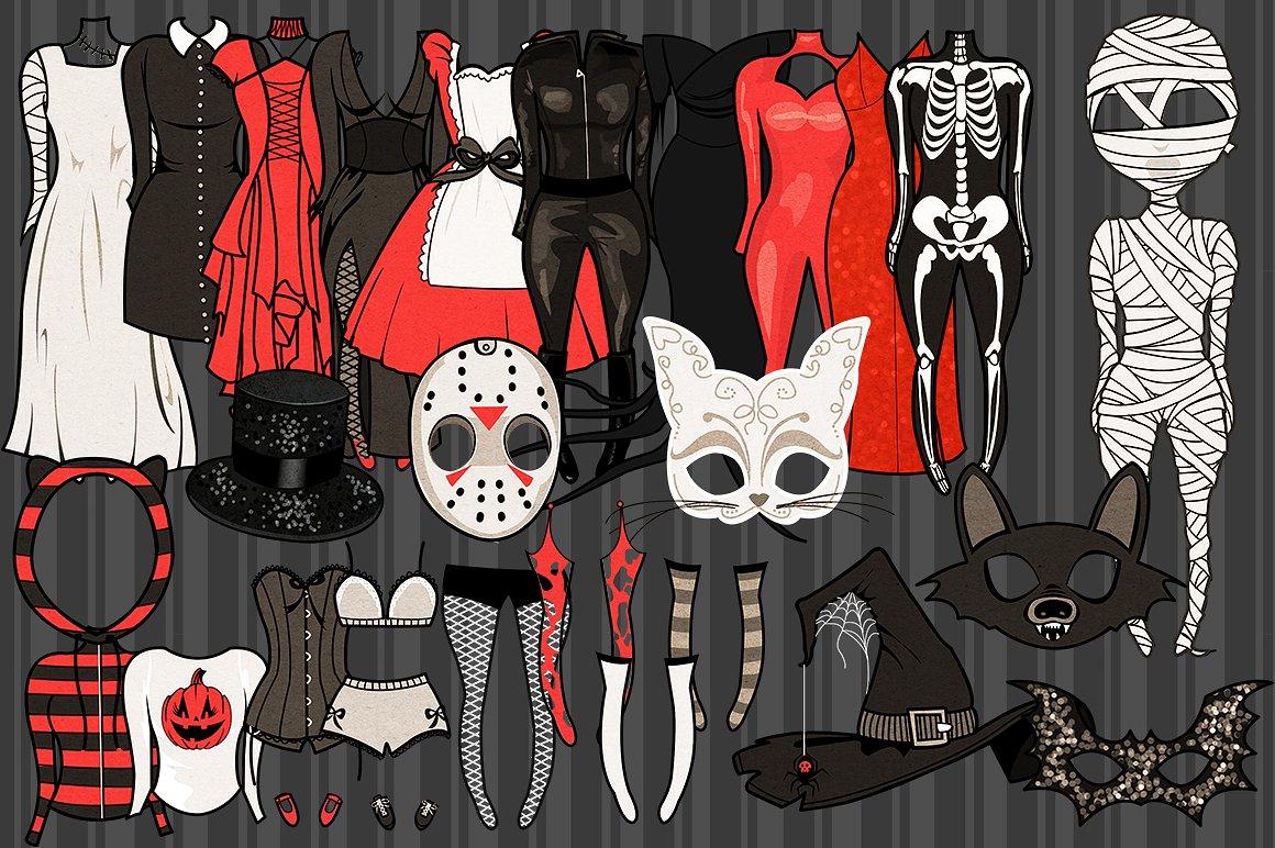 Halloween Girls Character Creator example image 6