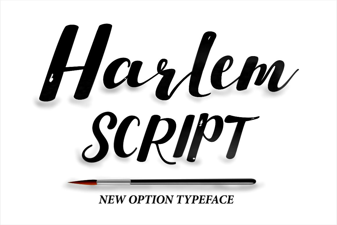 Harlem Script example image 1