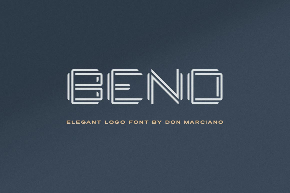Bend Logo Font example image 1