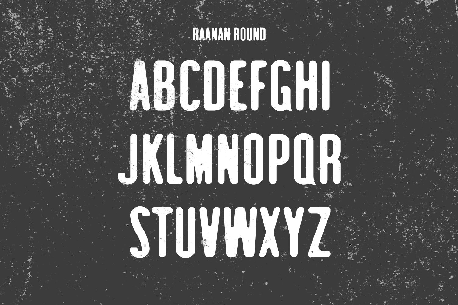 Raanan Classic Sans Serif Font Family example image 4