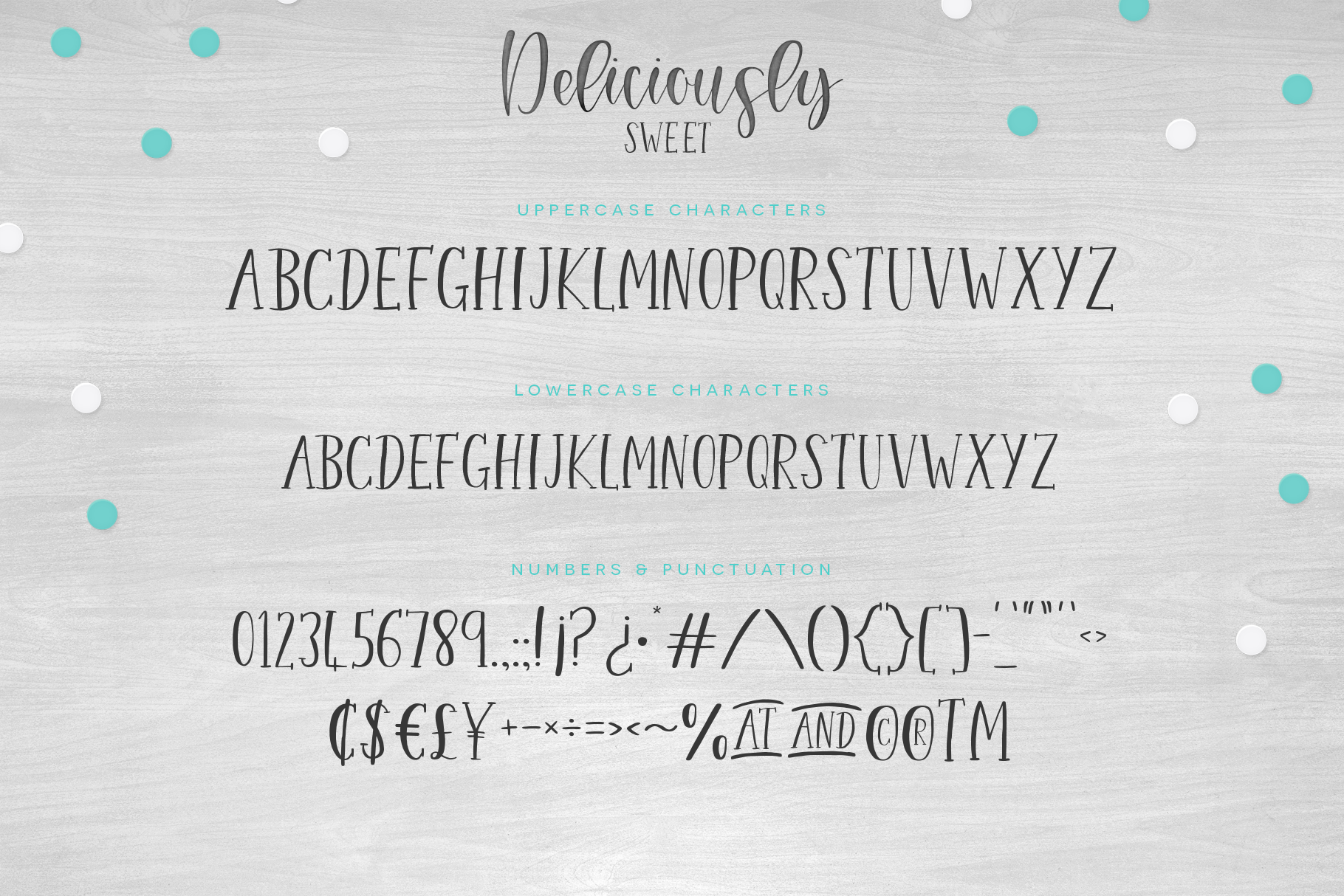 Deliciously Sweet Font Duo example image 3