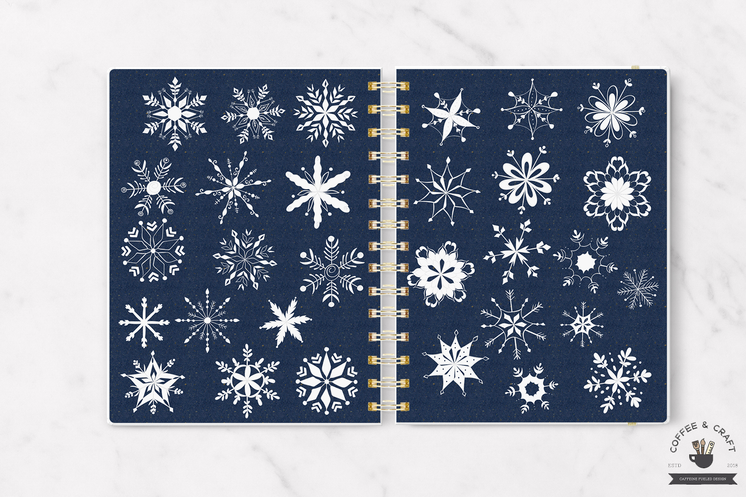 Snowflakes example image 2