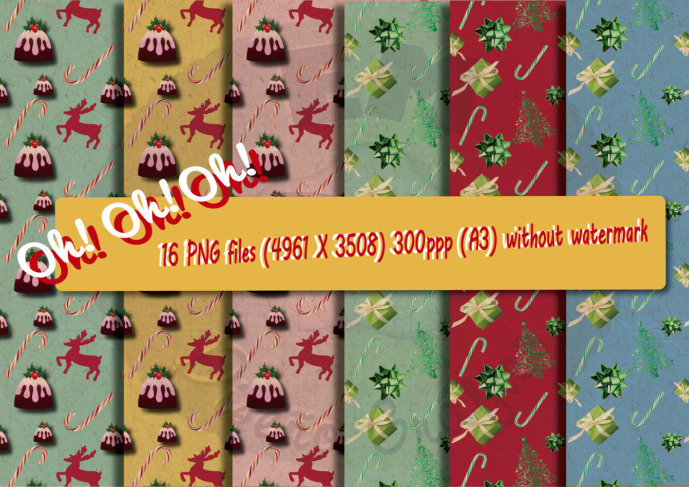 Christmas Vintage Bundle example image 7